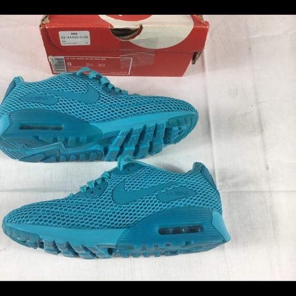 New Nike Air Max 90 Ultra BR Gamma Blue Sz 8 Wmn NWT